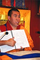 Nyima Dakpa Rinpoche. Poland, May, 2005